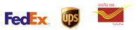 We convenirntly ship by FedEx, UPS and Indian Postal Services